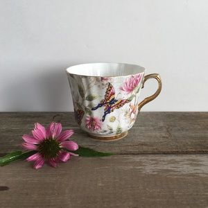 Old Royal | Vintage Butterfly Teacup